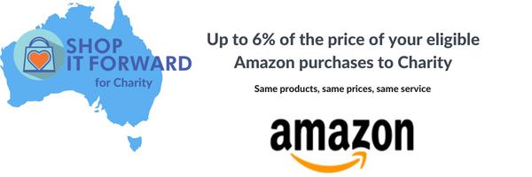 Amazon Australia Contributions at Shop it Forward