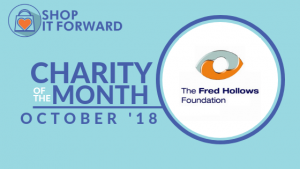 Shop and Earn for Fred Hollows Foundation